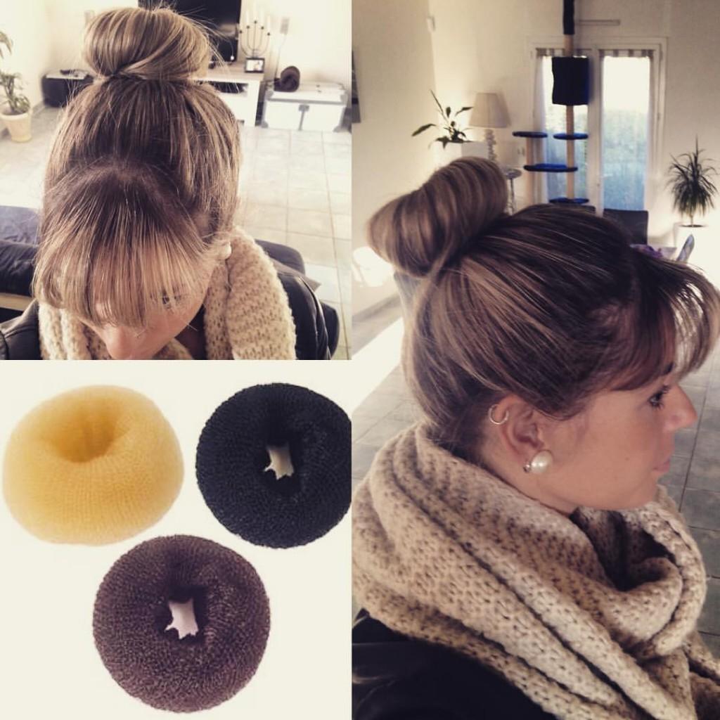 chignon donuts