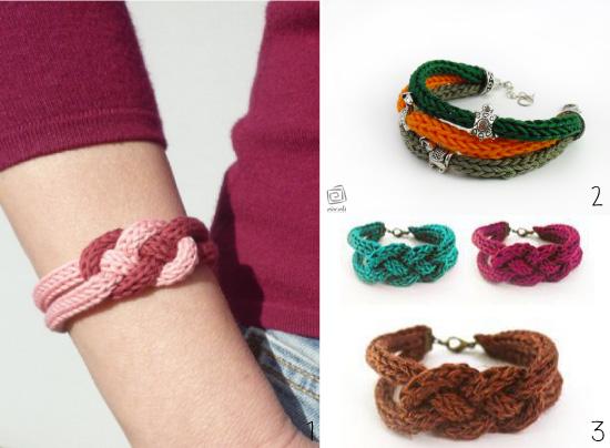bracelet-tricotin