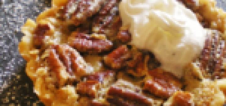 tartelette noix de pecan sirop d'erable