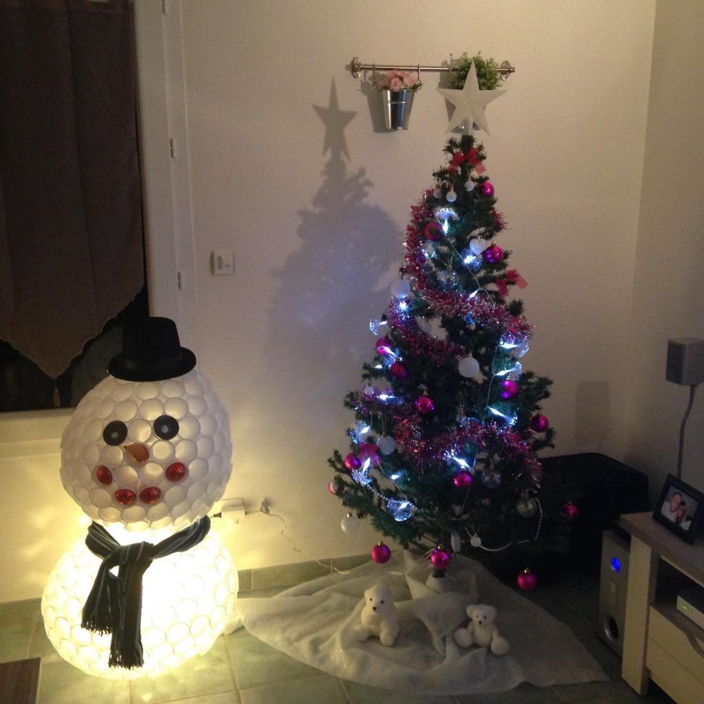 bonhomme de neige gobelets