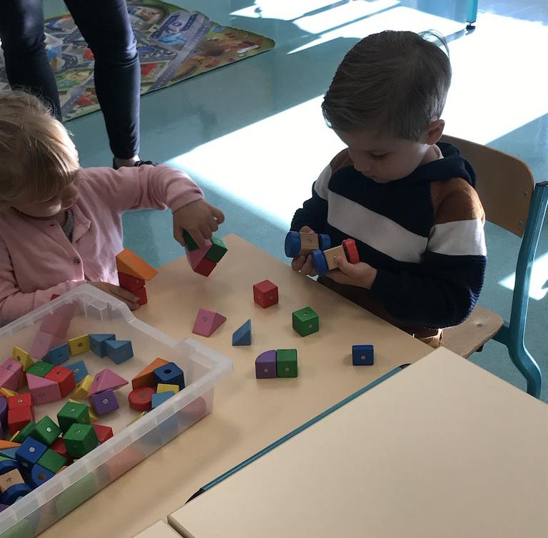 activité avec un enfant de 3 ans et demi