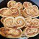 Recette palmiers jambon gruyère | apéritif