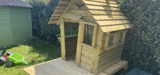 cabane en bois enfants exterieur