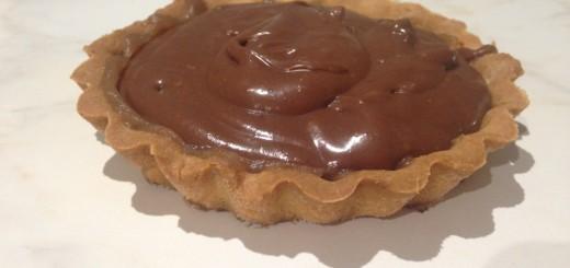 tarte chocolat marrons